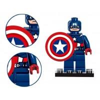 Конструктор Капитан Америка с щитом