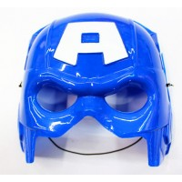 Пластиковая маска Капитана Америки