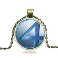 Кулон с логотипом Фантастической четверки