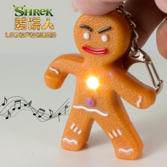 Брелок Печенька из Шрека со звуком