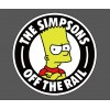 Наклейка The Simpsons Off The Rail