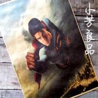 Плакат на стену с летящим Суперменом