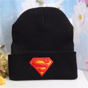 Шапка с логотипом Супермена