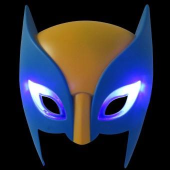 Светящаяся маска Росомахи